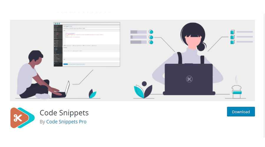 افزونه Code Snippets