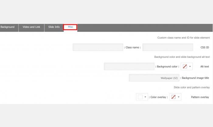 آموزش تنظیمات اسلایدها در افزونه Master Slider