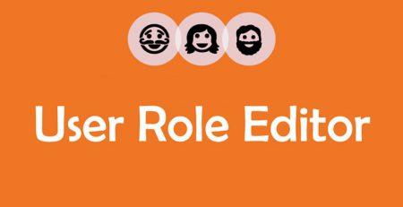 افزونه User Role Editor