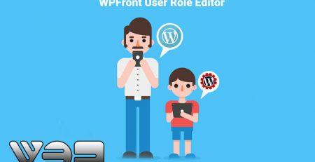 افزونه WPFront user Role