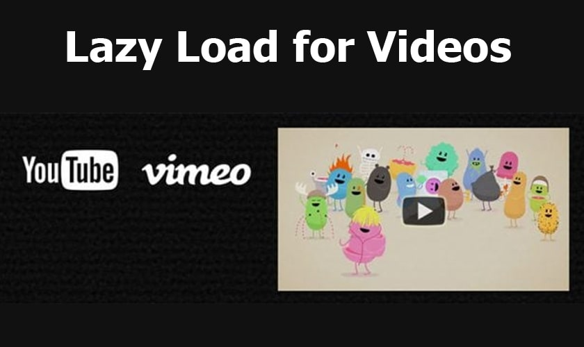 افزونه Lazy Load for Videos