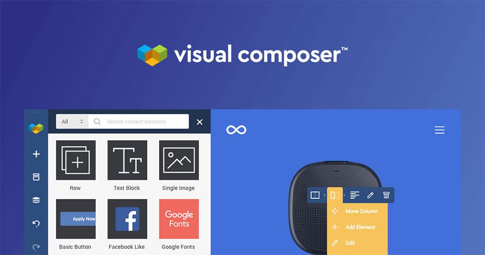 افزونه Visual Composer