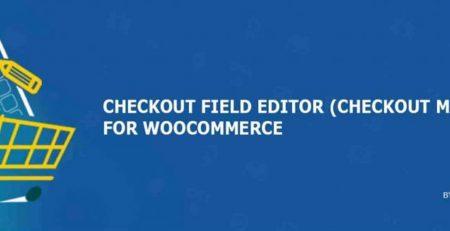 افزونه Checkout Field Editor