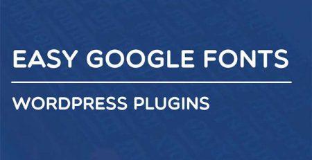 افزونه Easy Google Fonts