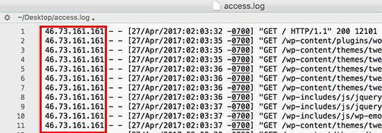 بلاک کردن IP مزاحم در وردپرس