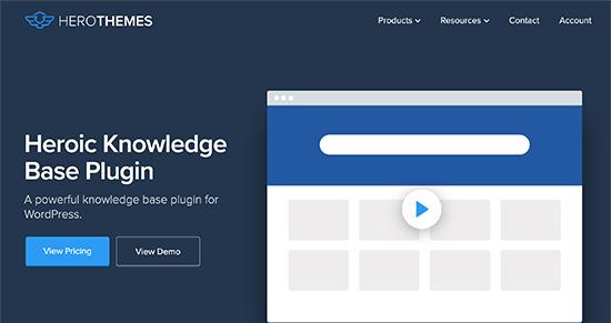 افزونه Heroic KB Plugin بهترین افزونههای پایگاه دانش