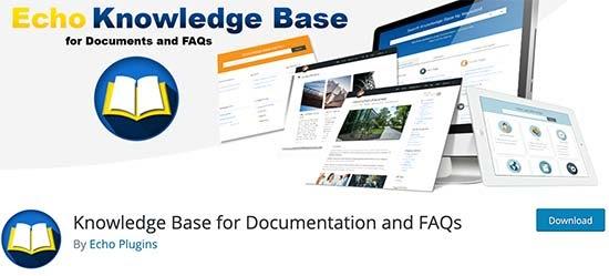 افزونه Echo Knowledge Base