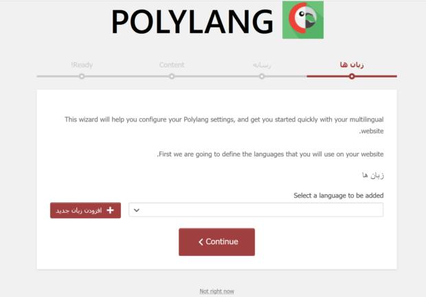 افزونه Polylang