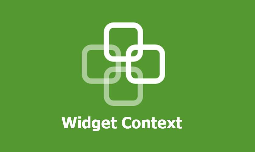 افزونه Widget Context