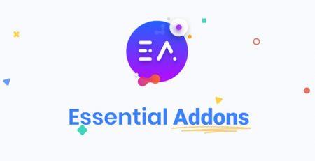 افزونه Essential Addons