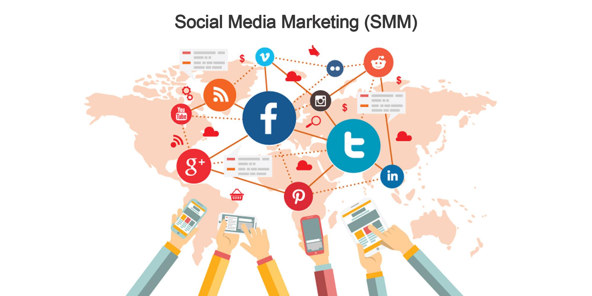 بازاریابی در شبکه های اجتماعی SMM