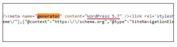 مخفی کردن ورژن وردپرس سایت