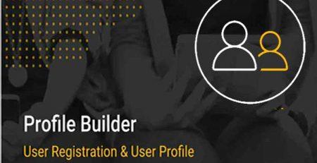 افزونه Profile Builder