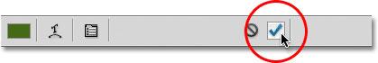 نوشتن متن در شکل : قرار دادن تیک در چک باکس برای تایید متن