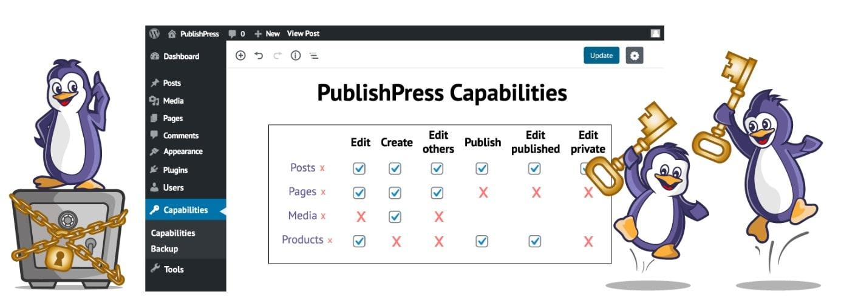 آموزش و نصب افزونه PublishPress capability