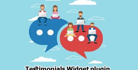 افزونه Testimonials Widget