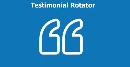 افزونه Testimonial Rotator