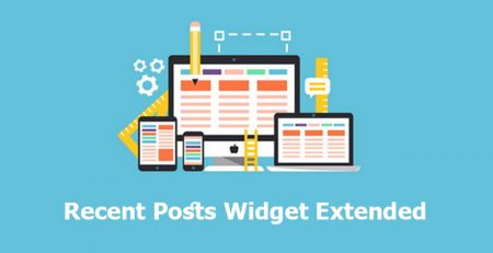 افزونه Recent Posts Widget Extended