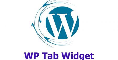 افزونه WP Tab Widget