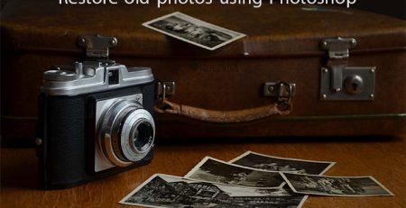 ترمیم عکسهای قدیمی