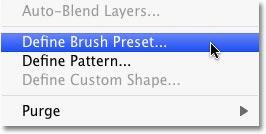 ساخت یک Brush  جدید در سند
