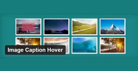 افزونه Image Caption Hover