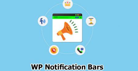 افزونه WP Notification Bars