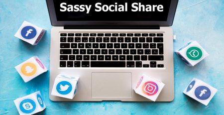 افزونه Sassy Social Share