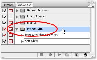 ذخیره و بارگذاری Actions در فتوشاپ