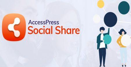 افزونه AccessPress Social Icons