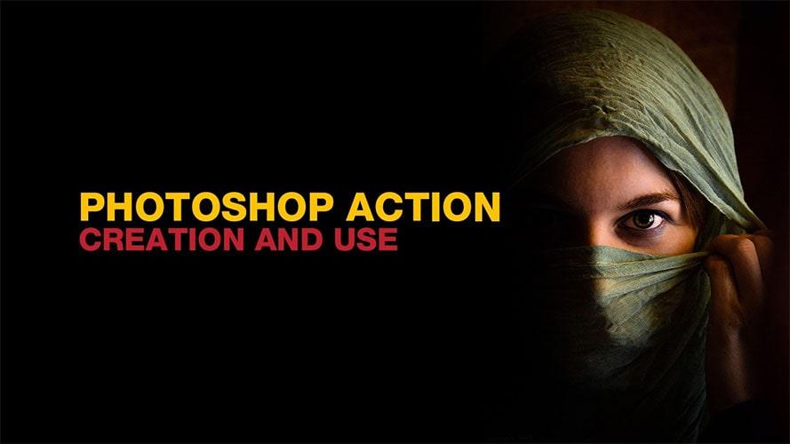 Actions در فتوشاپ