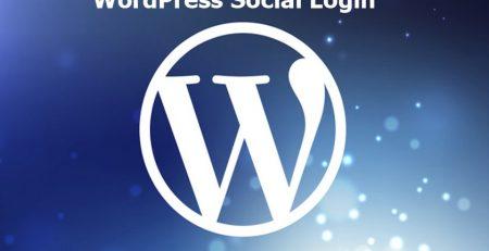 افزونه WordPress Social Login