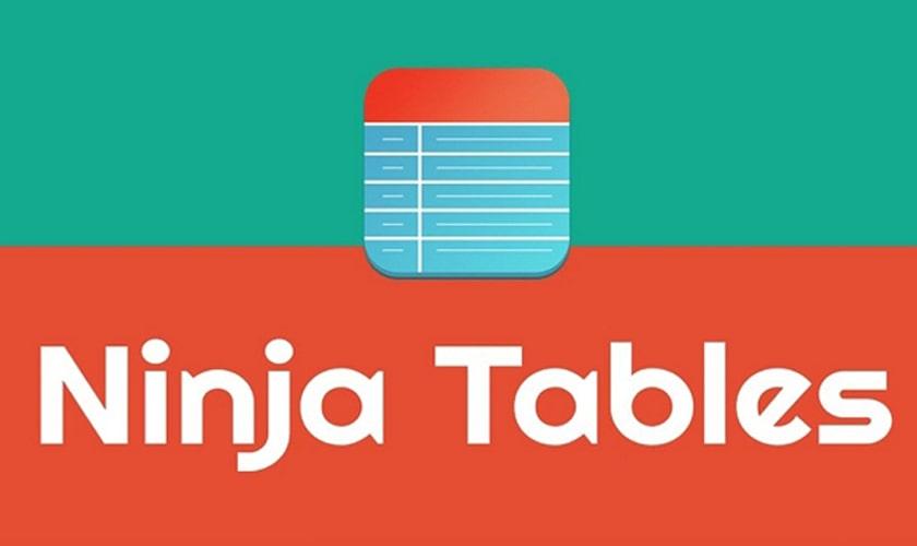 افزونه Ninja Tables