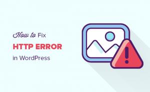 خطای HTTP هنگام آپلود تصاویر وردپرس